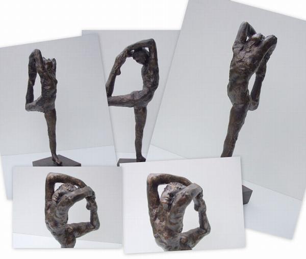 Auguste Rodin - Dansbeweging A.
